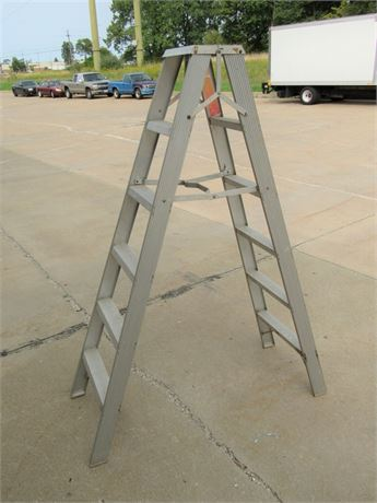 Sears 6' Aluminum Step Ladder