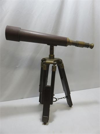 Vintage Tabletop Telescope