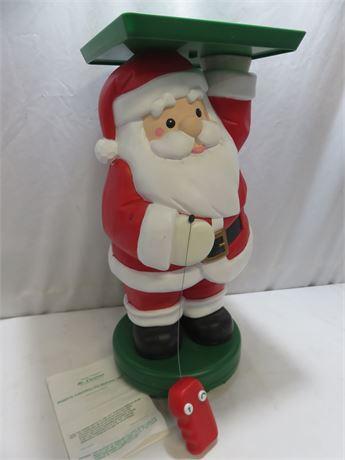MR. CHRISTMAS Remote Controlled Serving Santa