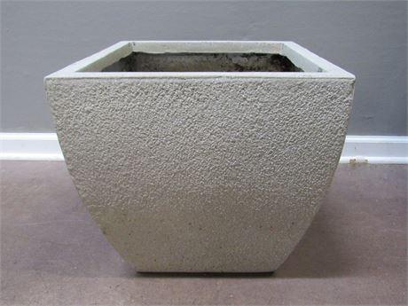 Large Resin Flower Pot/Planter