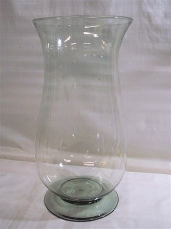VERY LARGE BLOWN GLASS VASE
