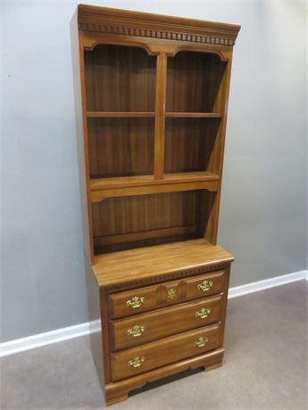 BASSETT FURNITURE Bookcase Hutch