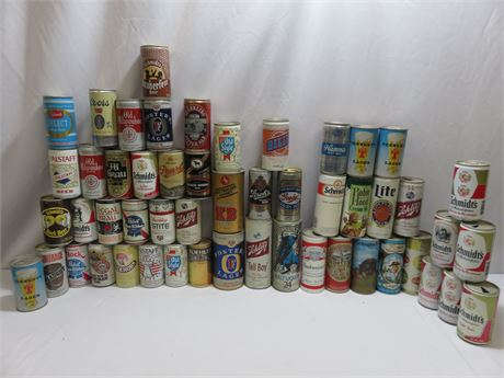 Beer Can Collection - Over 50 Cans