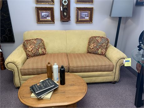 NuBuck Sofa by Leather Master