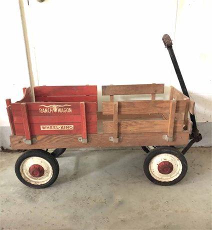 Vintage Wheel King Ranch Wagon