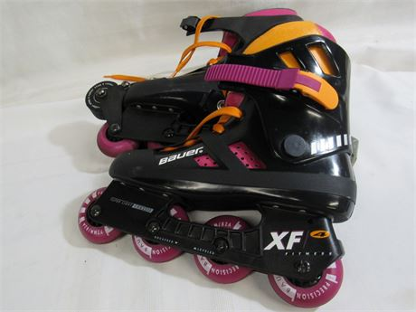 BAUER XF4 FITNESS IN-LINE SKATES - SIZE 10