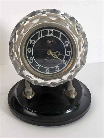 Russian Majak Crystal Clock