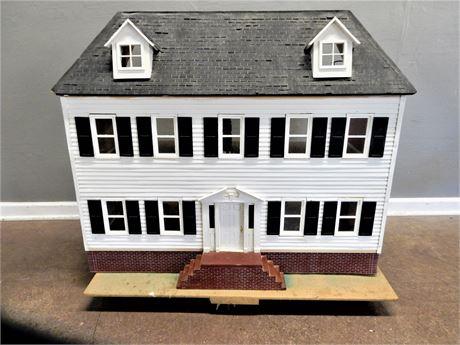 Magnificent Large Vintage Handmade Nine Room Doll House