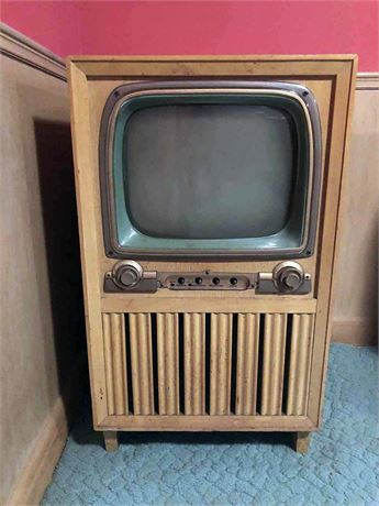 Mid Century Crosley Television