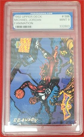 1992-93 Upper Deck Michael Jordan #506 FANIMATION AGENT 23