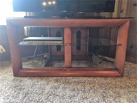 Glass Top TV/Media Stand