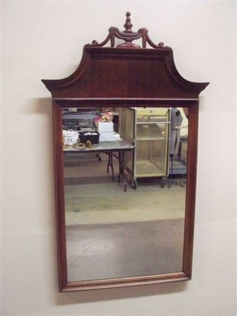 BEAUTIFUL VINTAGE CHIPPENDALE STYLE MIRROR