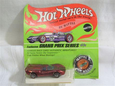 1969 Mattel Hot Wheels RedLine Grand Prix Series - Lola GT70 - NIP