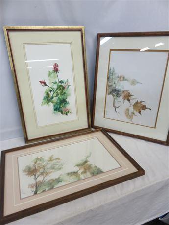 DALERAY SAWAN Asian Watercolor Art Prints