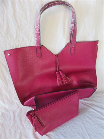 NEIMAN MARCUS Ladies Leather Purse & Clutch