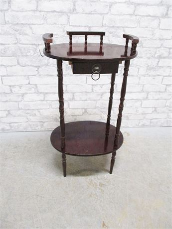 SMALL HALL TABLE WITH DRAWER