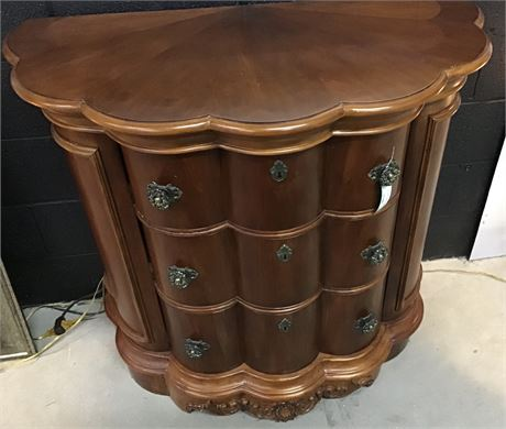 Curved Console / Foyer Table Dresser