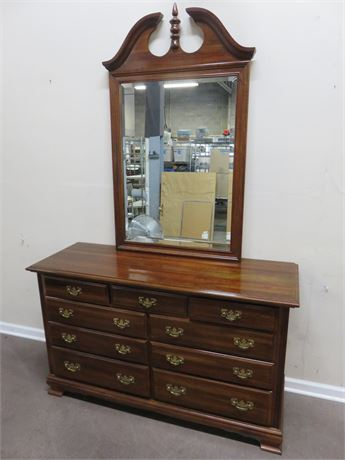 Colonial Style Cherry Dresser
