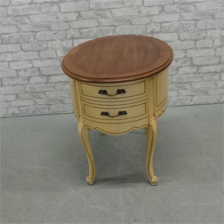 Weiman Oval End Table