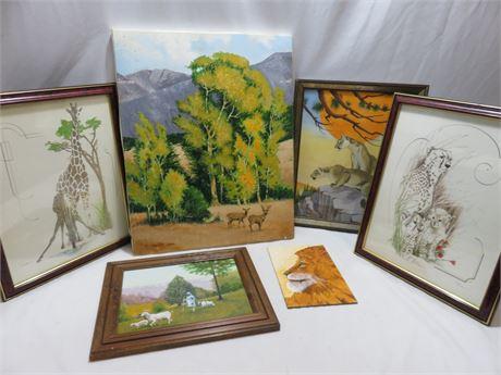 Animal Motif Paintings