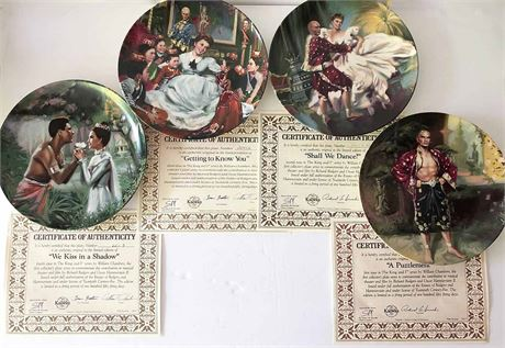 The King and I Plate Collection