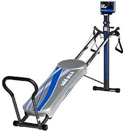 NIB - Total Gym Ultima #7888 with 2 Floor Mats and 10 Attachments
