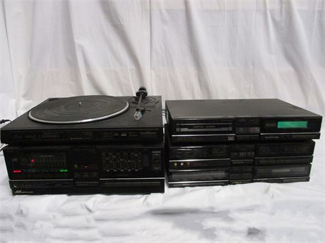 VINTAGE SANYO ARCHITECT SERIES INTEGRATED STEREO SYSTEM JA-V6 - NO REMOTE