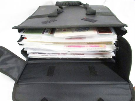 CROP IN STYLE PAPER TAKER FULL OF SCRAPBOOKING SUPPLIES