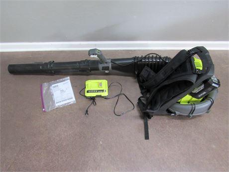 Ryobi 40 Volt Backpack Blower