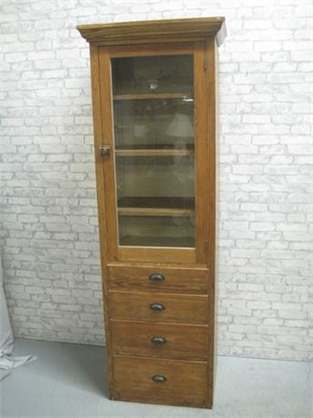 ANTIQUE CABINET/HUTCH