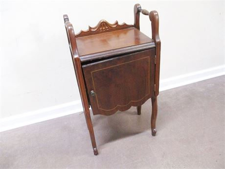 VINTAGE COPPER-LINED HUMIDOR CABINET