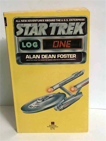 First Edition Star Trek Log One Book