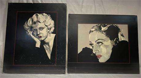 Jean Haig 1980's Poster Prints
