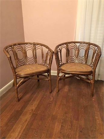 Rattan Cain Chairs