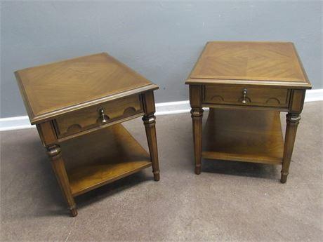 2 Vintage Drexel Esperanto Collection End Tables
