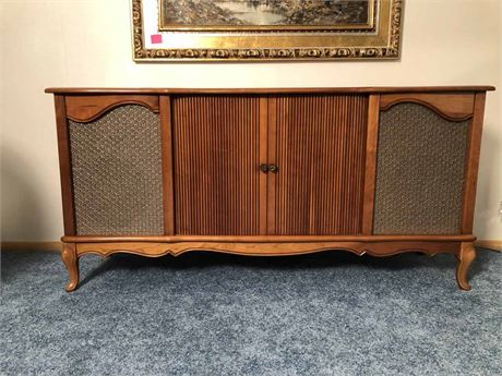 Mid Century Curtis Mathis Stereo Console