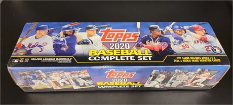 2020 TOPPS BASEBALL FACTORY SEALED COMPLETE SET W/ 5 ROOKIE VARIATIONS