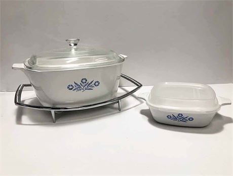 Corning Ware Casserole Dishes