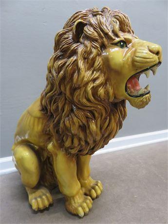 Large Lion Statue