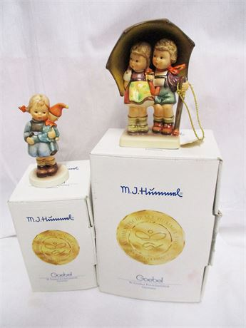 LOT OF 2 HUMMELS WITH BOXES