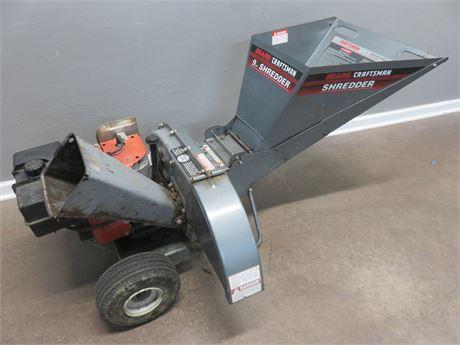 CRAFTSMAN 9 HP Chipper Shredder
