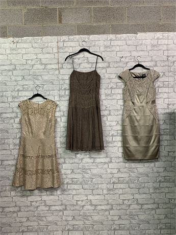 There She Goes Again! Lot of 3 Stunning Dresses