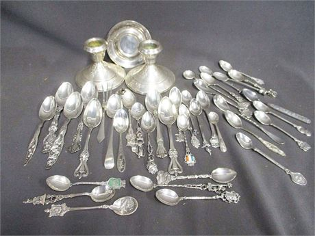 LOT OF SILVER - STERLING AND 800