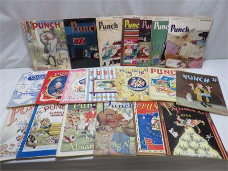 Vintage Punch Magazine Lot