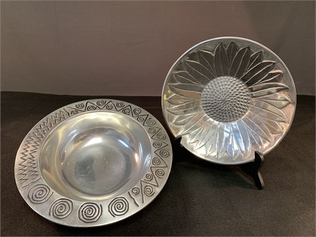 Two Bowls, featuring Wilton Armetale
