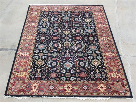 Beautiful Large Oriental/Asian Rug with pad/backing