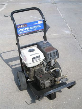 DEVILBISS EX CELL 3000 PSI PRESSURE WASHER