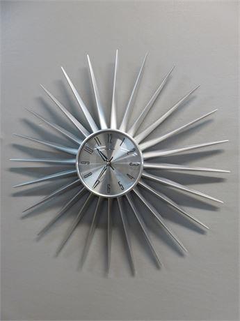 GEORGE NELSON Retro Style Sunburst Wall Clock