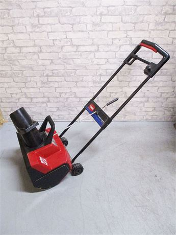 TORO POWER CURVE 1800 ELECTRIC SNOWTHROWER MODEL 38025