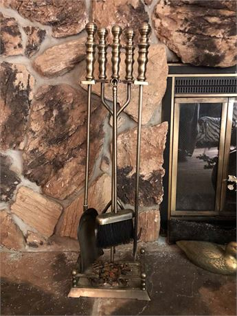Fireplace Tool Set
